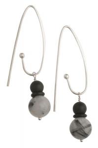 Moon Dancing Earrings - Long Hooks