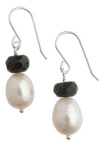Tango Pearl Earrings - Short Hooks